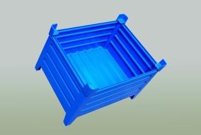 Vývoj a konstrukce, modely plechových palet, Strojtex