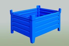 Vývoj a konstrukce, model palety, Strojtex
